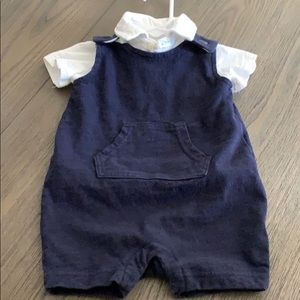 GAP Baby Boy shortall set size 3-6 months